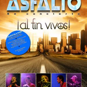 LYR B 003 Asfalto - Al fin vivos DVD